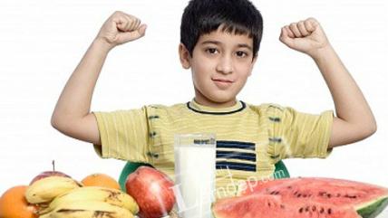 Thực đơn cho trẻ Nam từ 10 – 12 tuổi