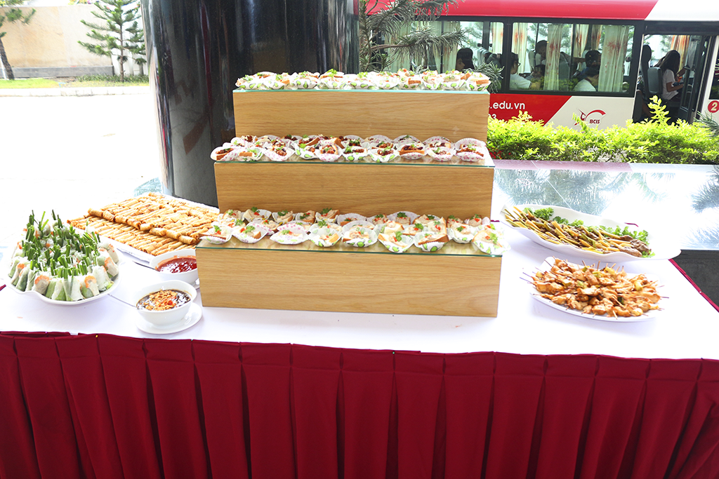 tiệc finger food tại May Catering