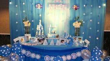"""Tiệc Sinh Nhật """"Công Chúa Elsa"""""""