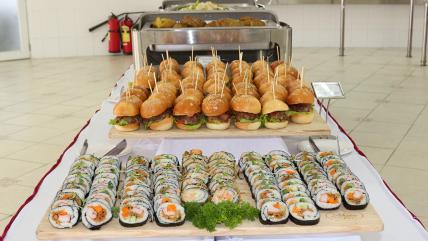 Tiệc buffet phục vụ Hội Nghị GIN 2017