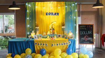 Chúc mừng sinh nhật Bé Dollar