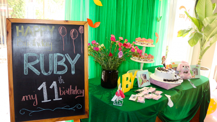 Sinh Nhật Ruby tổ chức tại May Coffee