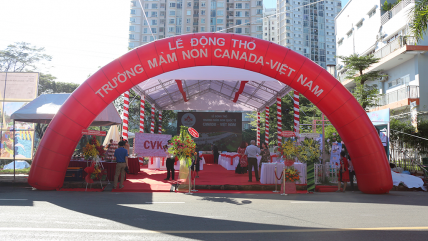 Lễ động thổ xây dựng Trường mầm non Canada – Việt Nam (CVK)
